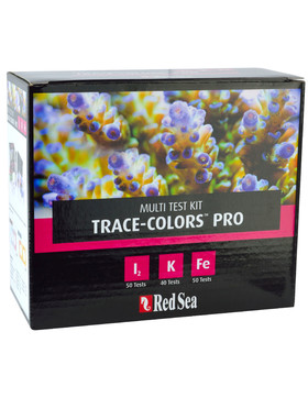 Red Sea Trace Color Pro Test Kit