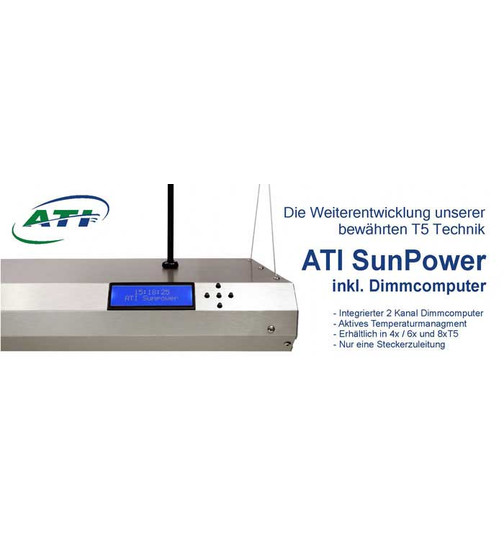 ATI Sunpower 6x24 Watt Dimmbar
